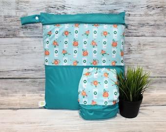 Duet bag / diaper Pumpkin spice