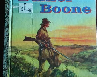 Daniel Boone A little Golden Book