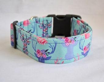 The Hannah Dog Collar (Martingale or Buckle)