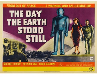 Day the Earth Stood Still Movie Wall Decal #48334