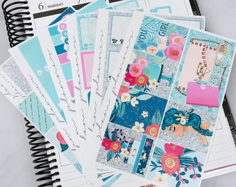 Ethereal Glow Sticker Kit (Glam Planner Stickers for Erin Condren Life Planner)