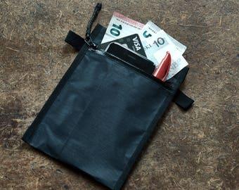 A6 | Passport | Double Zip Pouch | Dyneema Composite Fabric (Cuben Fiber)