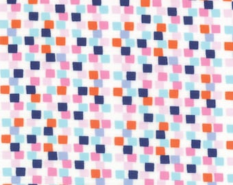 Fabric by the Yard -- Daydreams Checker Multi by Kate Spain for Moda