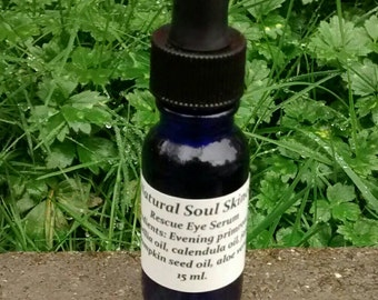 Rescue Eye Serum, eye serum, eye cream, eye gel, eye oil, puffy eyes, tired eyes