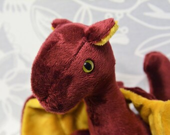 Garnet Dragon Red and Gold