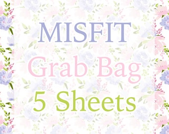 Misfit Grab Bag || 5 Sheets