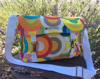 Bright & Happy Crossbody Messenger Bag