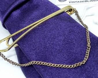 6.3cm, Long Vintage LAMBOURNES vintage tie clip, vintage tie bar, bridegroom, vintage, bridegroom, wedding, wedding jewelry, tie clip #5