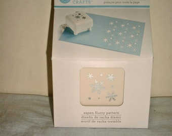 Martha Stewart Crafts Aspen Flurry Punch All Over the Page, New in Box - Punch 42-91004