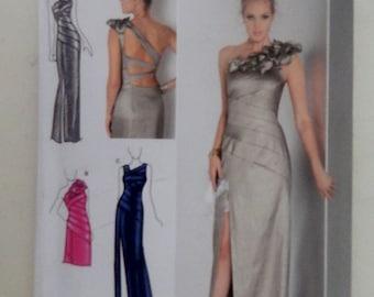 Vintage 1980's Jessica Mc Clintock Gunne Sax Dress Simplicity Pattern