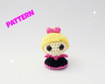 Crochet Doll Pattern, Crochet Amigurumi Pattern, Crochet Princess Pattern, Amigurumi Doll Pattern, Kids Patterns, Toy Pattern, Baby Pattern
