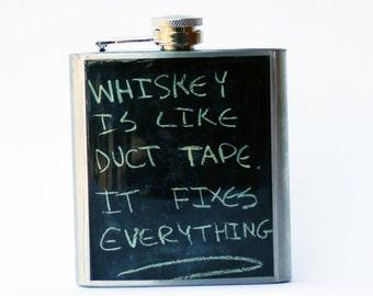 Garçons d'honneur hip Flask-Cool cadeau - Whiskey fiole - anniversaire-cadeau pour lui-garçons d'honneur cadeau - cadeau pour papa-fête des pères cadeau cadeau - whisky