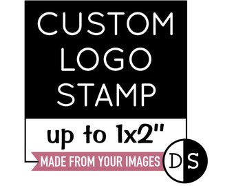 Custom Logo Stamp, Business Logo Stamp, Business Branding Stamp, Logo Stamper, Custom Stamp