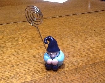 Blue Pixie small picture holder