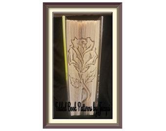 2533. Rose Book Folding - Pattern