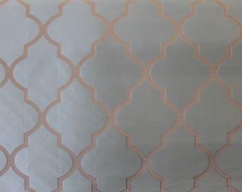 Silky Quatrefoil Fabric