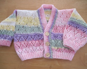 Little girls first cardigan