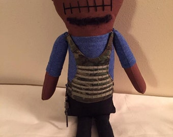 T-Dog - Inspired by TWD - Creepy n Cute Zombie Doll (D)