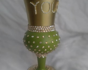 Personalized Pimp Cup with Swavorski Crystals