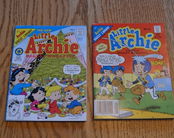 Little Archie Comics Digest and The New Little Archie Digest Magazine