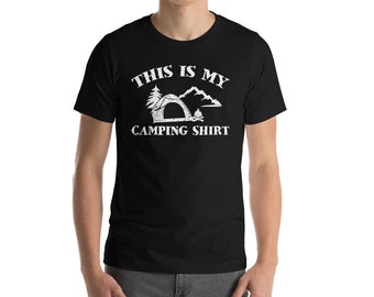 This Is My Camping Shirt-Hiking T-shirt- Hiking shirt - Camping shirt - Take a hike shirt - hiking tshirt - hiking tee - nature lover shirt