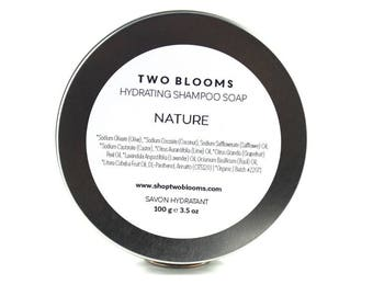 Organic Shampoo Soap, Nature Basil Lime Soap, Natural Soap Victoria BC Vancouver Island Canada