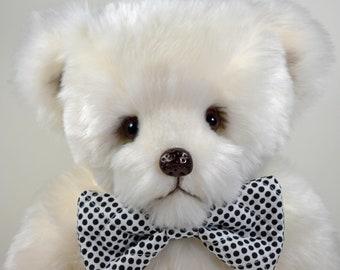 Hal – Handmade Teddy Bear, Artist Bear, Stuffed Animal, Plush, Toy, OOAK, Made In Alaska