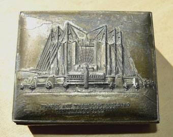 N. Shure Co. Imports Chicago World's Fair Trinket Box