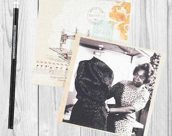 Writing journal, notebook, bullet journal, diary, sketchbook, blank  -- Zelda Wynn Valdes - Journal/Sketchbook