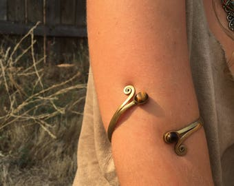 Tigers Eye Arm Band