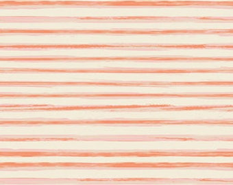 Art Gallery Fabrics//Row by Row Coral//Premium Quilting Cotton//100% Cotton//Pink, Coral, Orange, White, Ivory//LWF