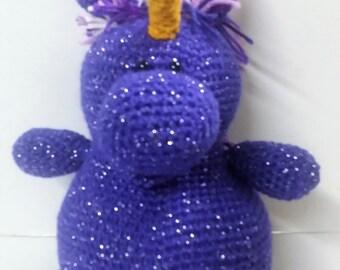 Unicorn/Mystical Animal/Amigurumi/Stuffed Animal/Mystical Creature/Plush Animal/Safe toy for Toddler and Children/Toy Unicorn/Stuffed Toy