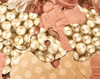 Roses and Pearls Tag Assortment (120)