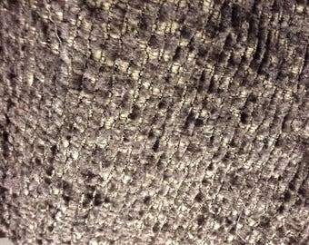Terry Gray charcoal heathered wool black and beige