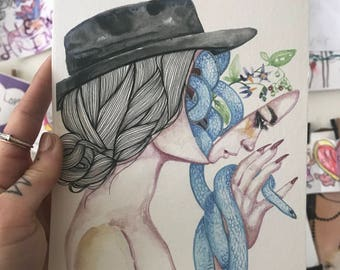 No Delicate Flower Print