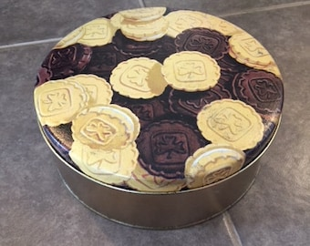 Vintage Girl Guides Cookie Tin