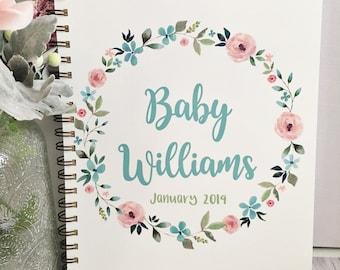 Journal de grossesse, planificateur de la grossesse, journal de grossesse, maternité Journal intime, maman cadeau, planificateur de maternité, tracker de la grossesse