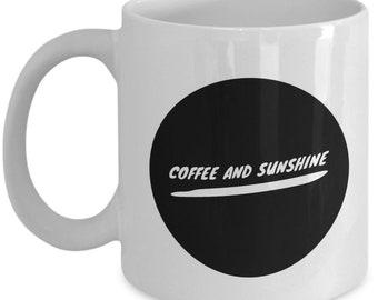 coffee and sunshine mug