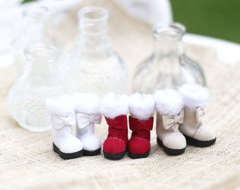 Shoes for Neo Blythe , Pullip , Licca dolls .
