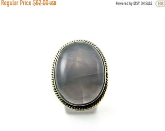 Mothers Day Sale Lavender Amethyst Sterling Silver Statement Ring