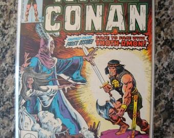 King Conan  Issue 1 - 1980 barbarian comic book