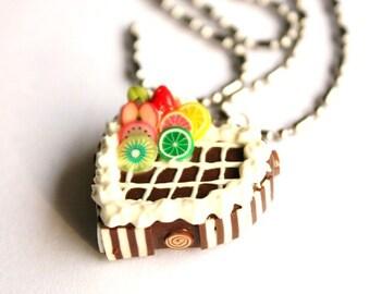 Miniature Polymer Clay Beads pour aliments Bijoux Collier 1 pcs