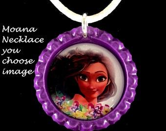 Moana Necklace,you choose image,moana necklace,moana jewelry,moana charm necklace,priness moana jewelry,moana gifts,moana charms