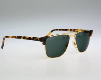 Gian Marco Venturi 711, Vintage aviator sunglasses, 80s rare and unique / NOS