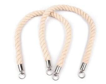 Bag handles, 1 pair, 65/67 cm