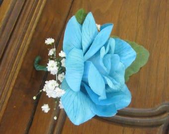 Boutonierre, Silk Rose Boutonierre, Groom,Groomsmen,Fathers,Ring Bearers,Weddings,Proms,Parties,Events