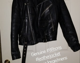 Wilson Leather Jacket *!price drop!*