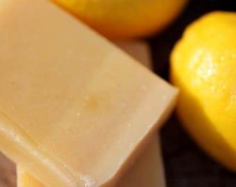 Lemongrass Soap -made with honey and beeswax