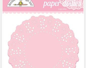 Paper Doilies (Cupcake) from Doodlebug - 75 count