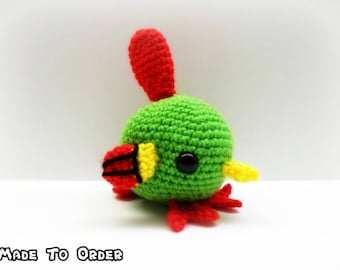 Crochet Natu Inspired Chibi Pokemon